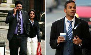 Gang 'kicked Sikh lawyer's turban off his head outside St Paul's Cathedral after they made sexual comment to his wife
