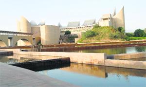 The Virasat-e-Khalsa at Anandpur Sahib.