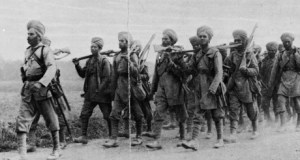 Indian infantrymen 1914