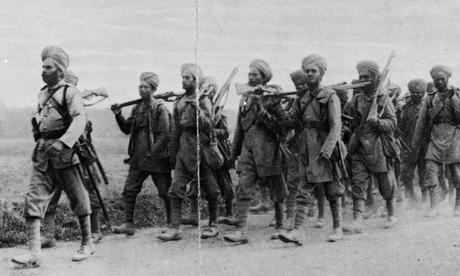 Indian infantrymen 1914