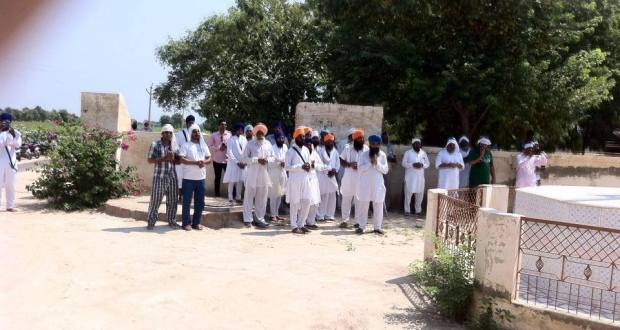 Missing Saroop of Sri Guru Granth Sahib Ji found near Gurdwara