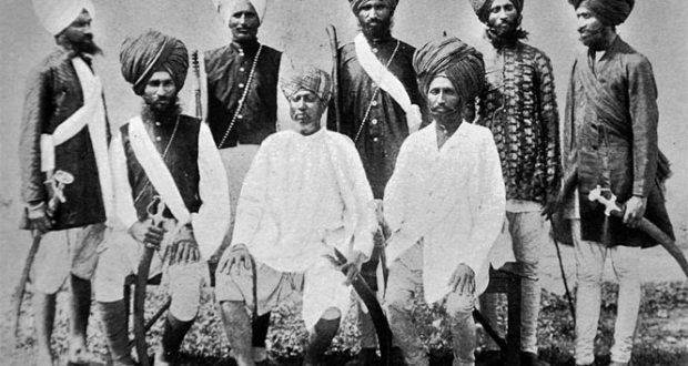 Sikh policemen were part of the Nizam's law and order machinery.