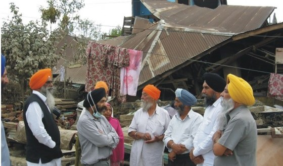 SGPC team in Jammu and Kashmir.
