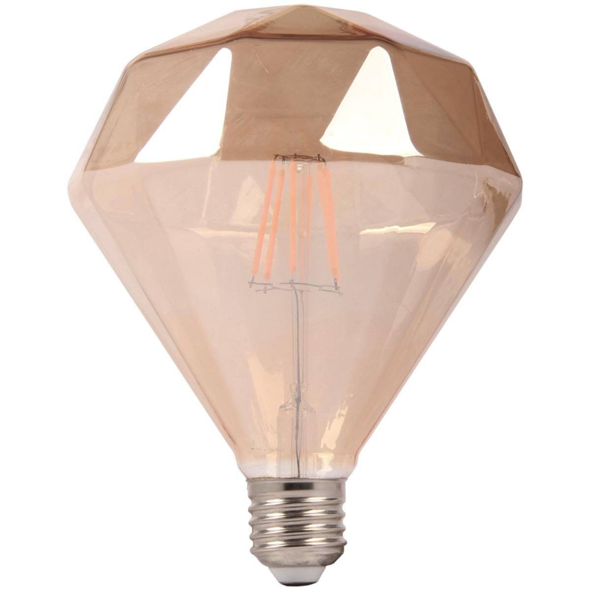 Ampoule Dimmable Ampoule Led E27 Dimmable 6w Ambrée Originale