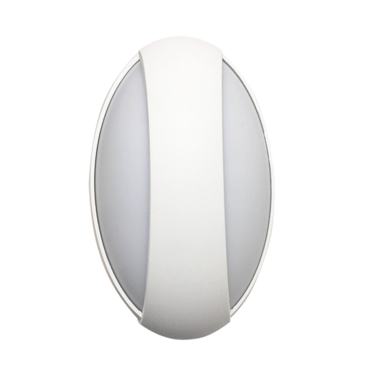 Applique Exterieur Ovale Applique Led Murale 12w Ovale Blanc