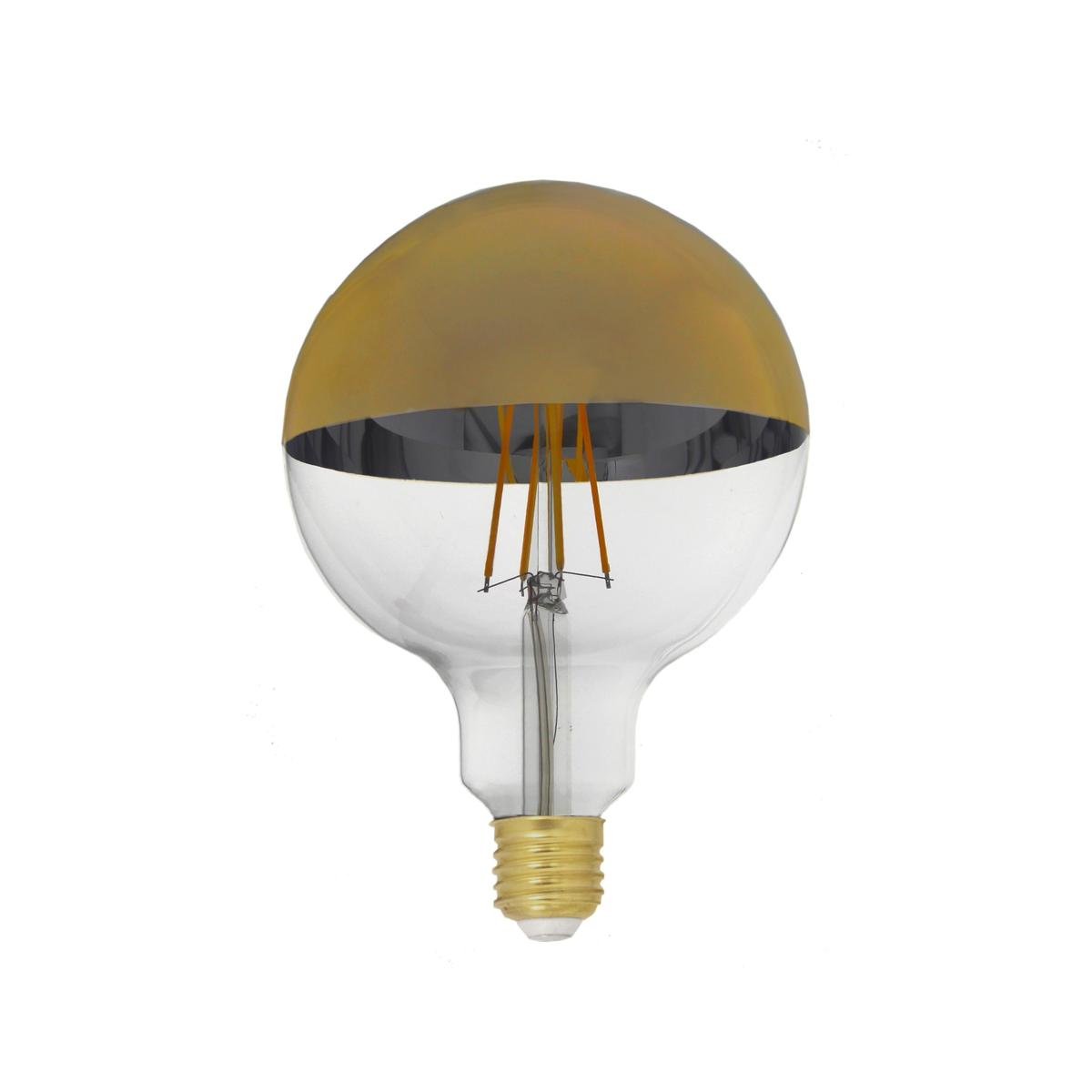 Ampoule E27 Dimmable Ampoule Led E27 Filament Dimmable 8w G95 Globe Reflect Or
