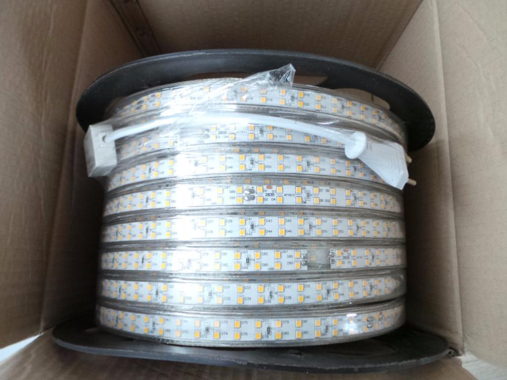 Ruban Led Exterieur 220v Ruban Led 220v Recoupable 50m Ip65 2835 180led M