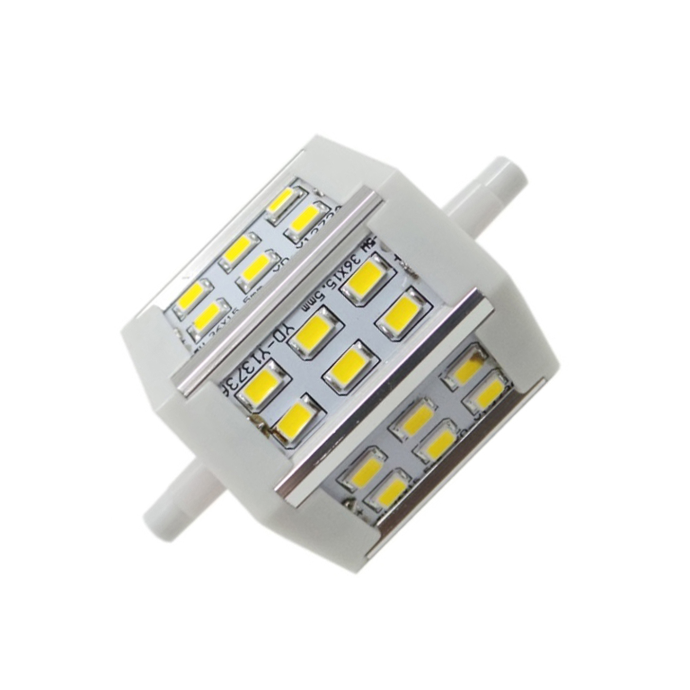 Lampara R7s Bajo Consumo R7s Led Bombilla De 6w Led 78mm 18 Silamp 230v 6w Luz Natural