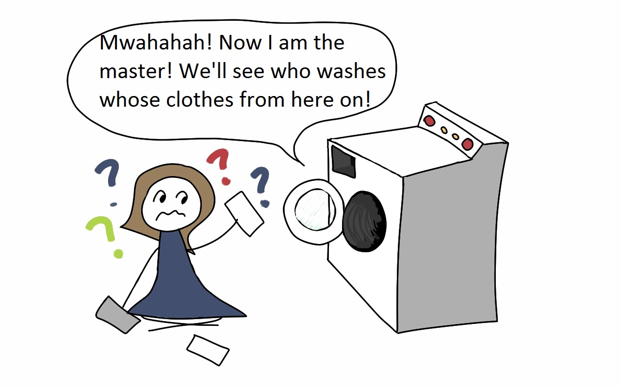 Kapotte Wasmachine Washing Machine Humor Pictures To Pin On Pinterest Pinsdaddy