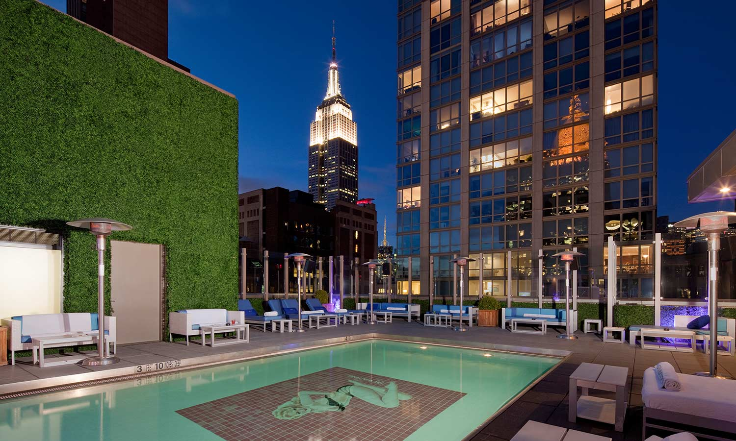 Restaurant Toit Terrasse New York Le Top Des Bars Rooftops D Hôtels à New York Silencio