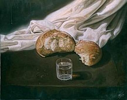 Resultado de imagen de penitencia pan y agua