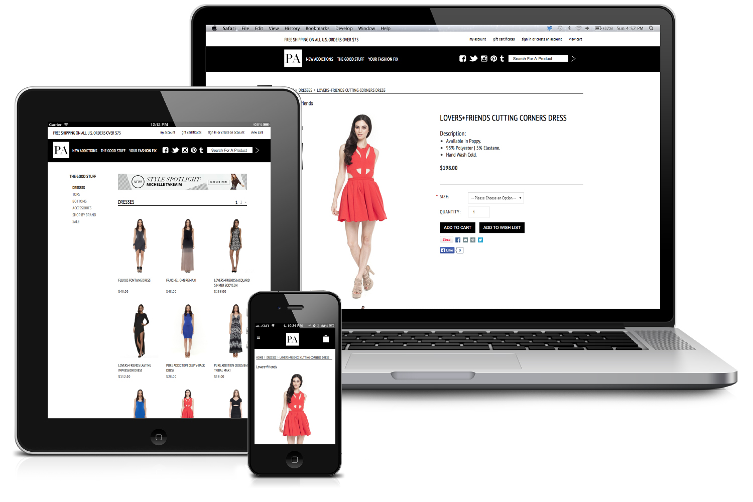 Design Online Shop Ecommerce Design And Development