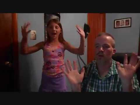 "Father and Daughter Rock in this Awesome ASL Rendition of ""One Call Away"" by Charlie Puth."