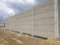 integrated noise barrier
