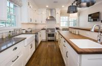 Updated Farmhouse Kitchen Integrates Butlers Pantry and ...