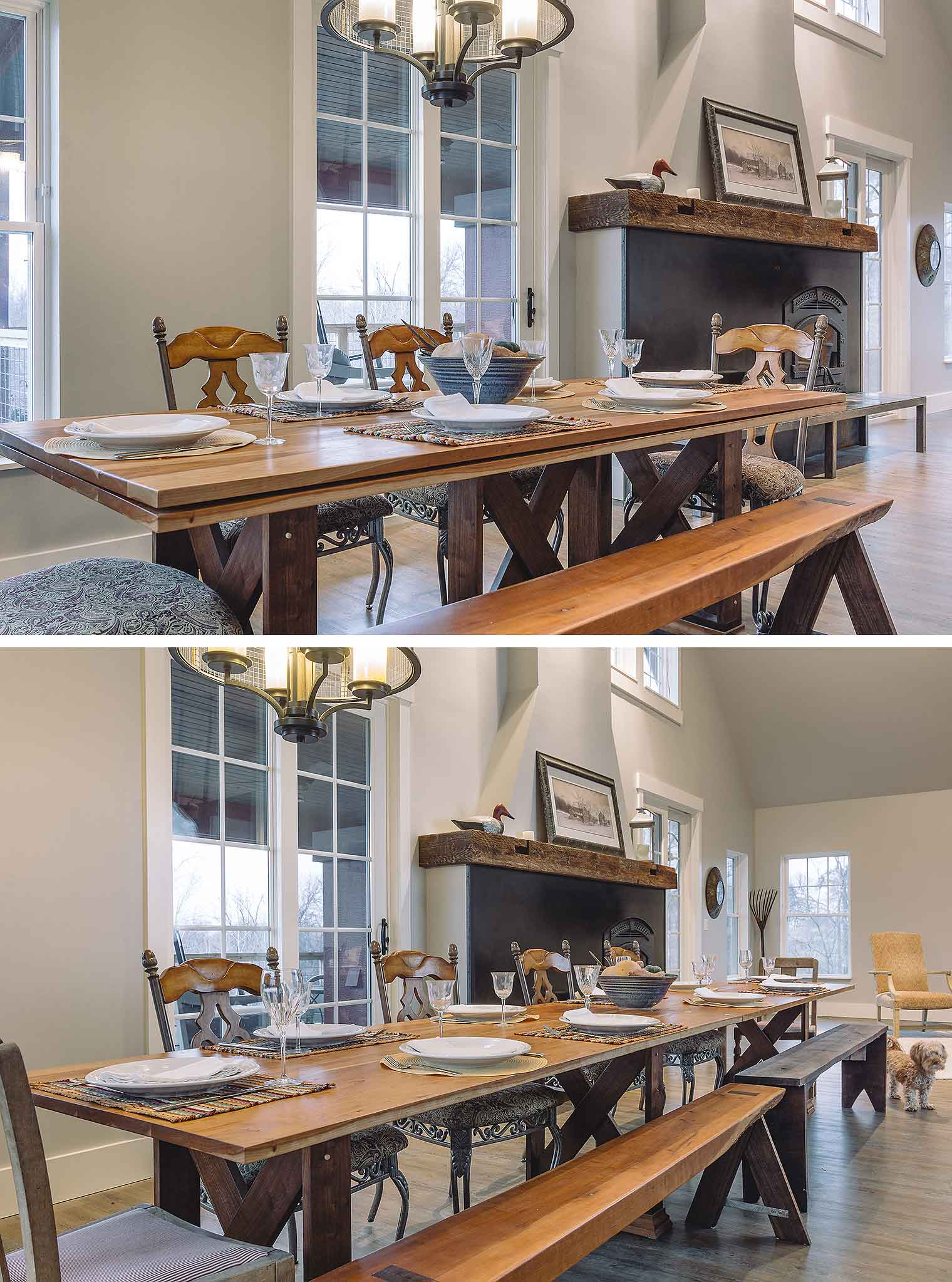 St Charles Kitchen Cabinets A Lifetime Love Of Barns Inspires A New Custom Home