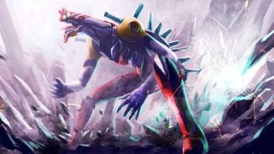 Evangelion Eva-02 Beast Mode [Wallpaper] | SiliconChaos.com