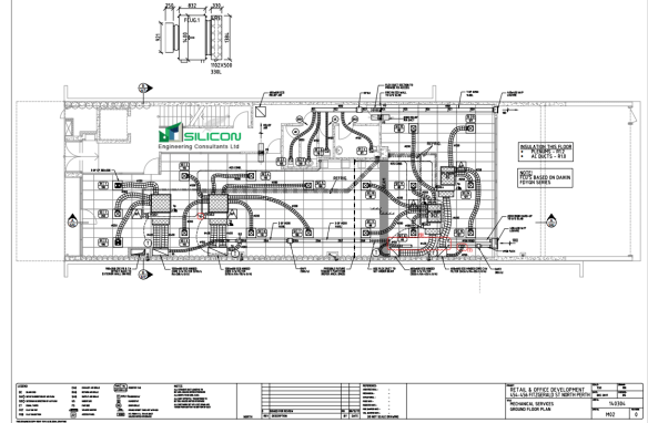 hvac installation drawings