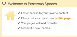 Posterous spaces
