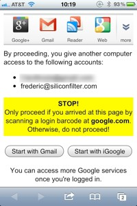 Gmail login phone