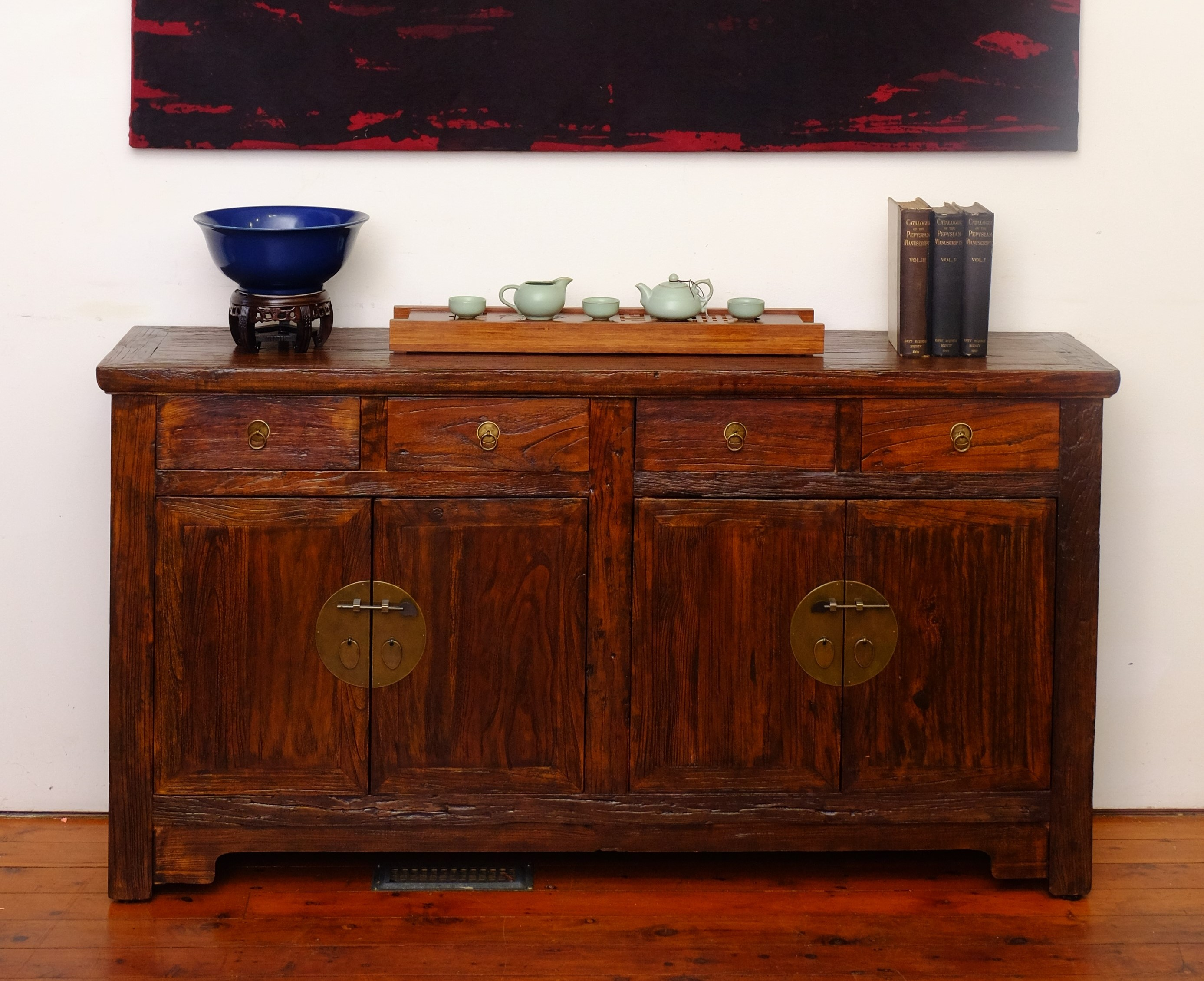 Sideboard Eiche Provence Sideboard 160 Cm Cheap Baumhaus Urban Chic Reclaimed Wood Door