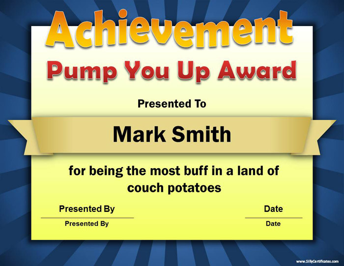 Silly Certificates - Funny Awards for the Office - best of free funny employee awards printable certificates