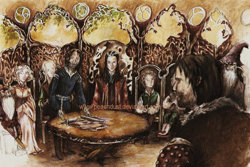 King Of The Fall Wallpaper Season 8 Episode 6 The Council Of Elrond The