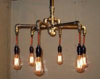 Steampunk Chandelier by The Milton Douglas Lamp Co ...