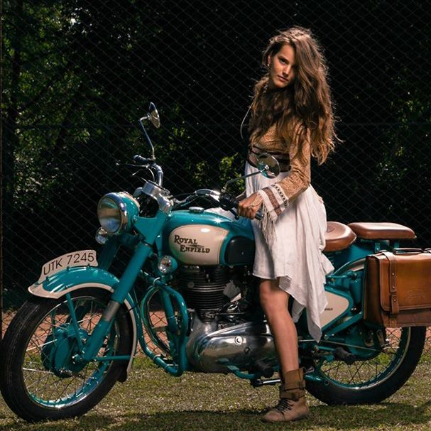 New Wallpaper Girl Indian Old Delhi Motorcycles The Film