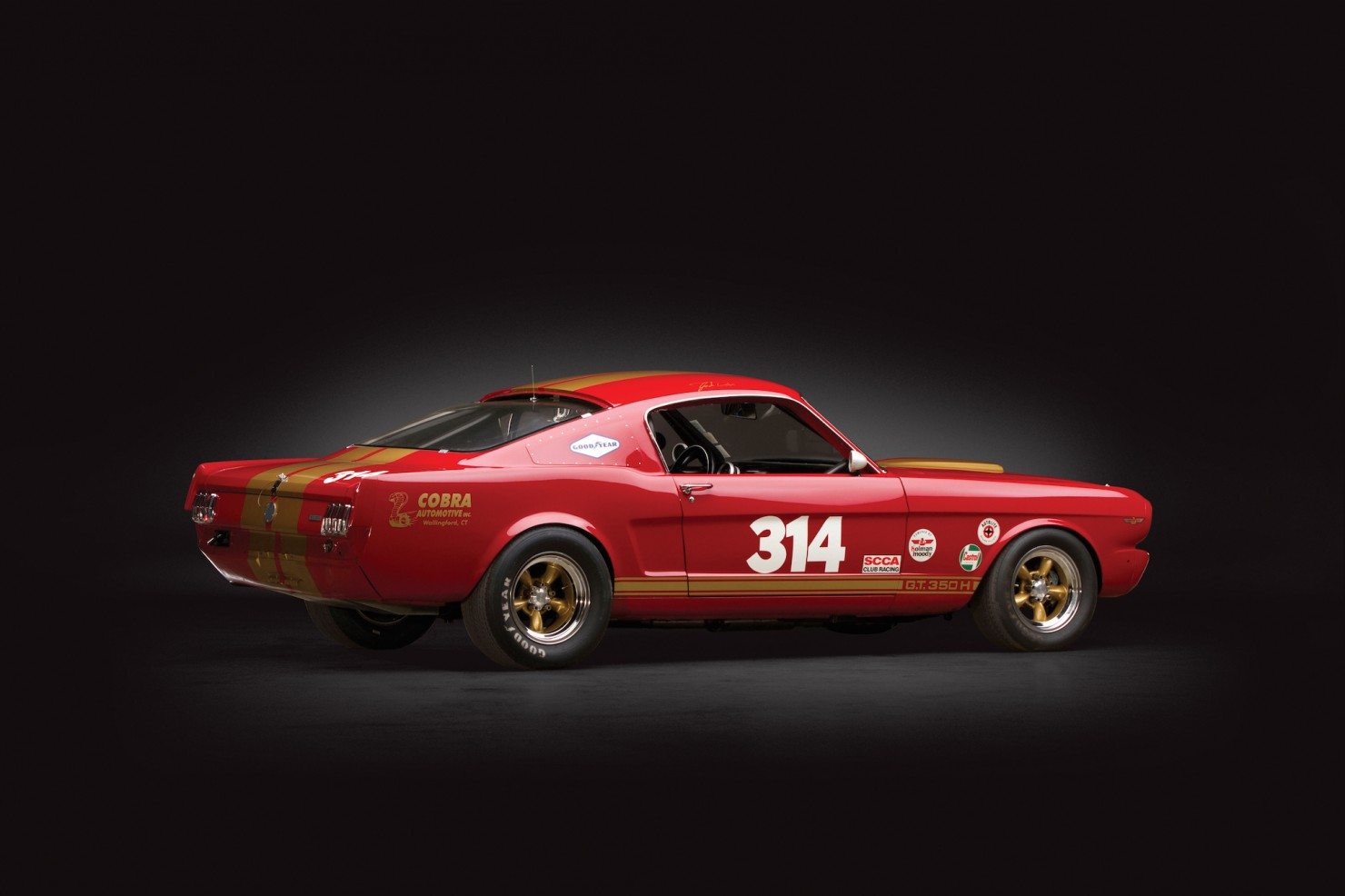 3d Japanese Wallpaper 1966 Shelby Mustang Gt350h Race Car
