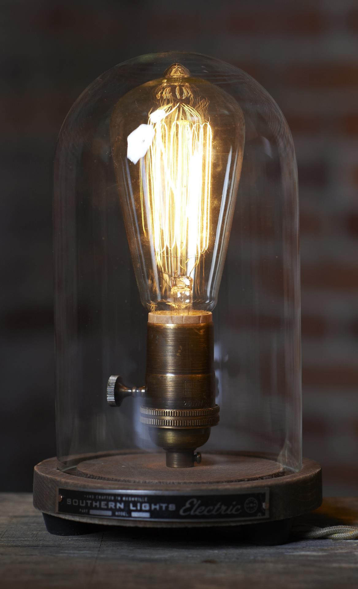 Lampen Design The Original Bell Jar Table Lamp