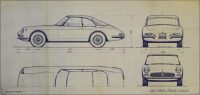 Original Pininfarina Blueprints