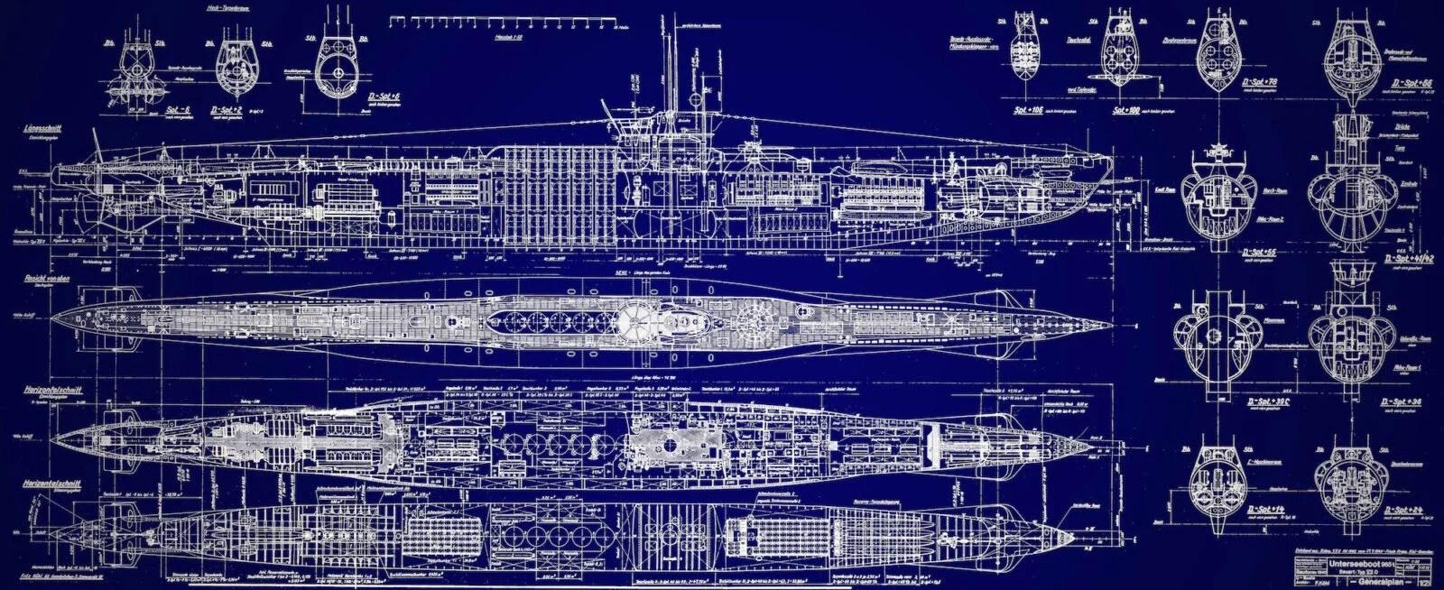 U Boat Blueprints