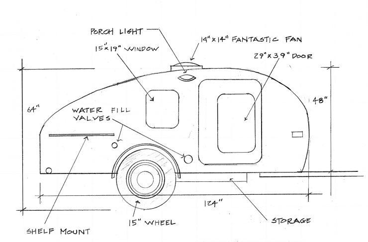 wiring diagram teardrop trailer