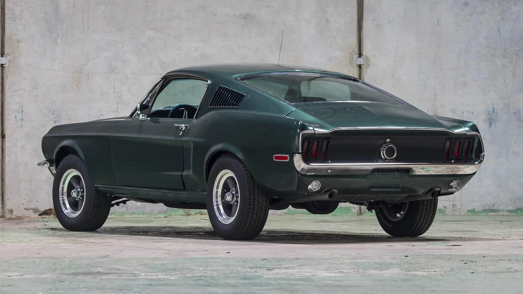 Mustang Gt Car Hd Wallpaper Bullitt Spec 1968 Ford Mustang Fastback