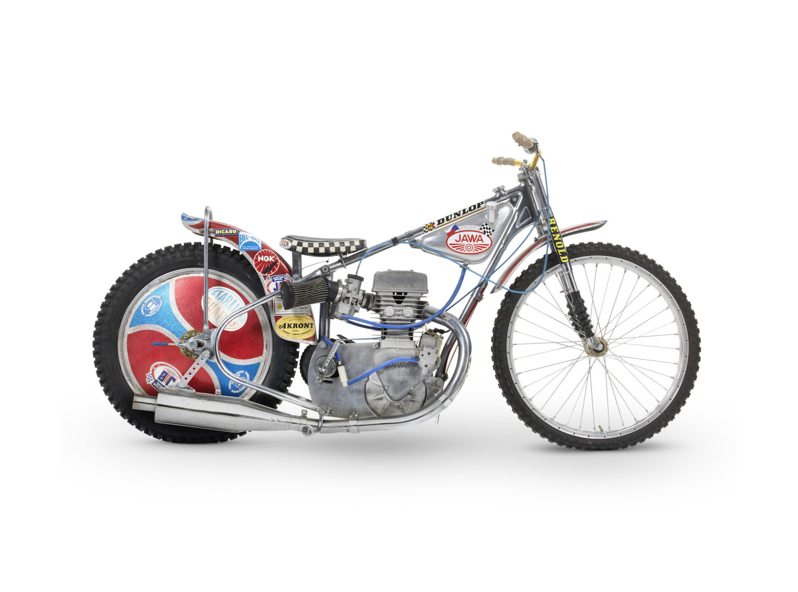 Speed Way 1977 Speedway World Championship Final Winning Jawa Racer