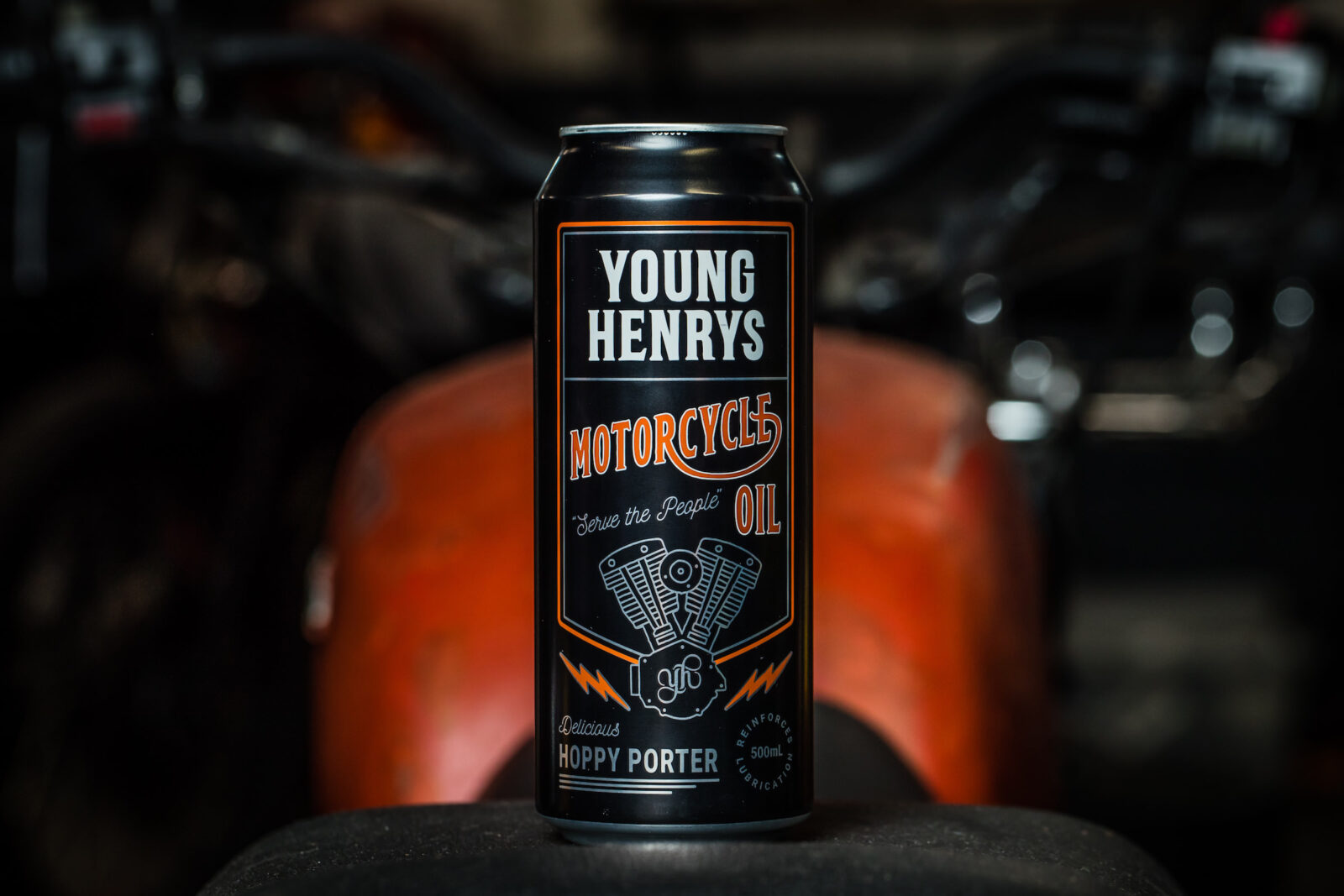 Garage Brewing Restaurant Young Henrys Motorcycle Oil The Perfect Garage Beer