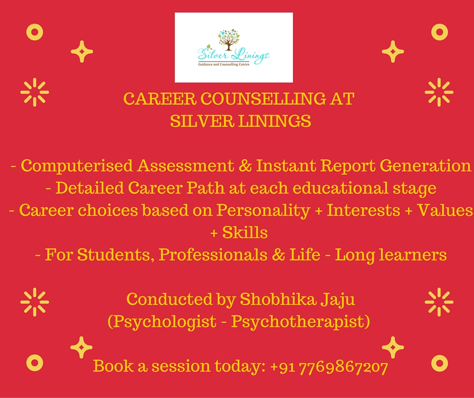 Career Counselling  Aptitude Test Silver Linings Goa