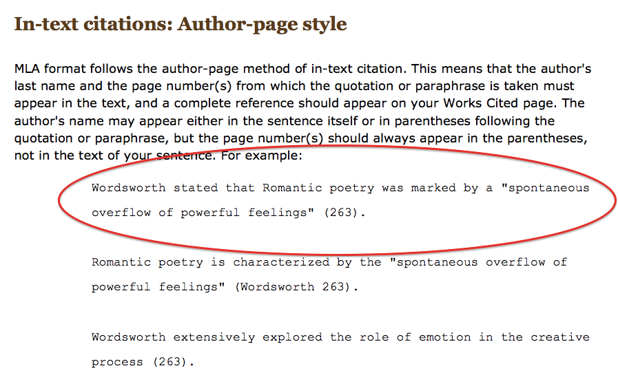 microsoft word ama citation style in text