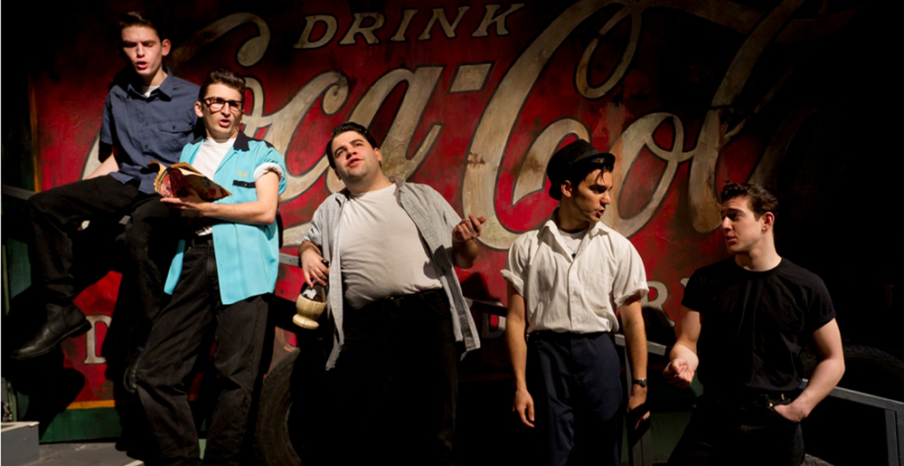 Bubba Weiler, Tyler Ravelson, Robert Colletti, Patrick De Nicola, Adrian Aguilar. ATC's The Original Grease