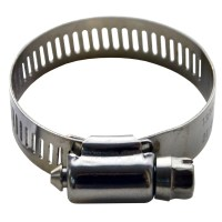 Stainless Hose Clamp  Silver Rose Hardware
