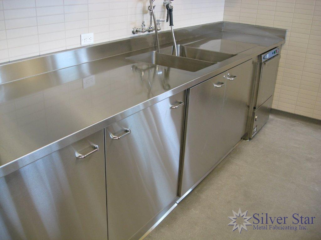 Stainless Steel Cabinets And Countertops Stainless Steel Countertops Cabinets 11