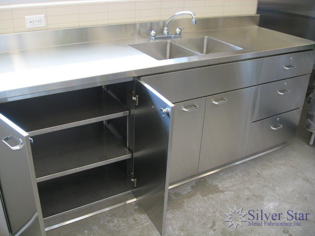 Stainless Steel Cabinets And Countertops Stainless Steel Countertops Cabinets 6