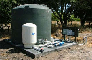 Well Water Storage Tank