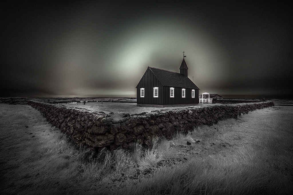 New York Bilder Iceland, Black And White Photography, Infrared, Long