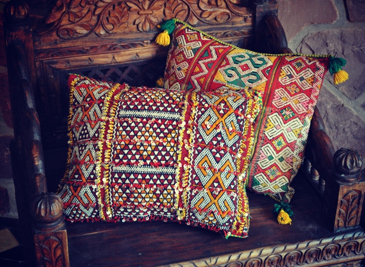 Living Room Decor Pillows Beyond Morocco – Objects Of Desire: Kilim Pillows