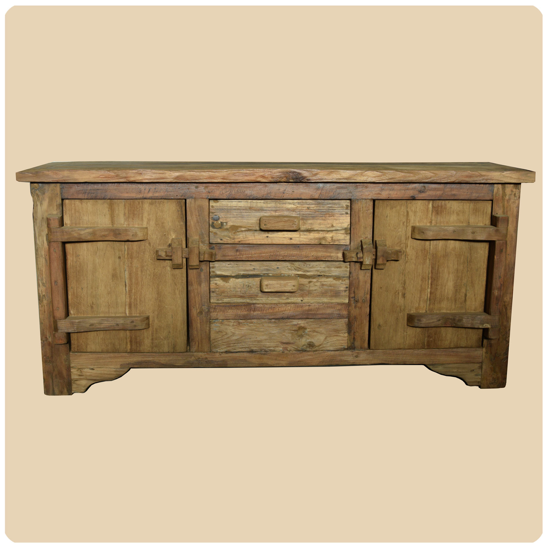 Teakholz Kommode Vintage Altholz Kommode Recycling Teak Holz Massiv Sideboard