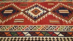 Perzisch Kashkai Kelim Tapijt 269 x 159 cm