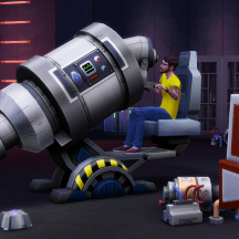The Sims 4 Andre Microscope