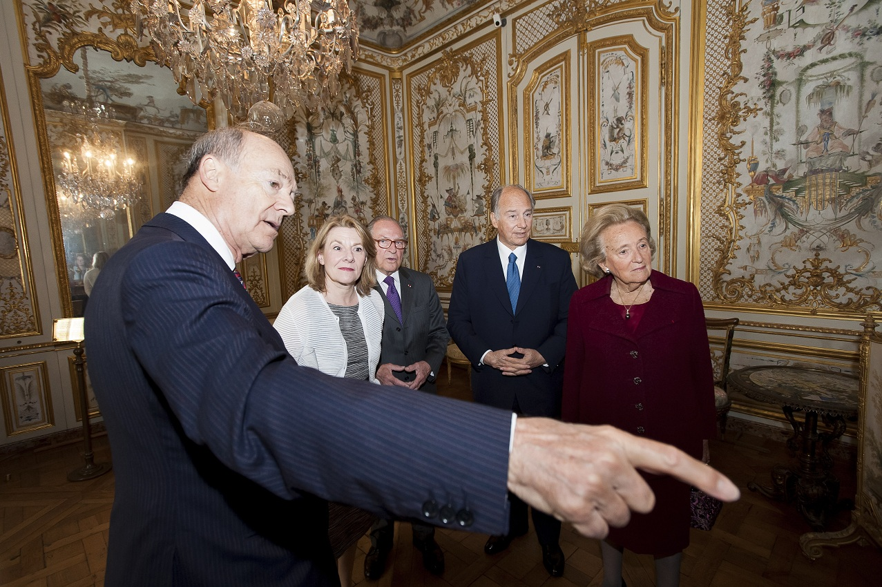 Aga France Prince Karim Aga Khan Chateau De Chantilly Sponsor